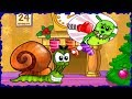 Snail Bob Time To Fight Bad Guys - Children's Game Mobile Gameplay