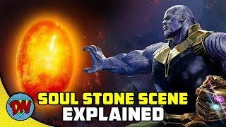 SOUL STONE Scene From Infinity War Explained in Hindi [Breakdown]