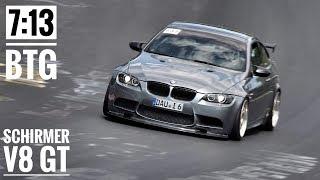 SCHIRMER BMW E92 M3 | 7:13 BTG | Nürburgring Nordschleife TF | Alex Hardt