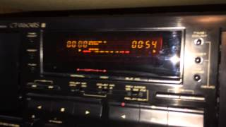 """Pioneer CT-W604RS with Dolby """"S"""" Noise Reduction"""