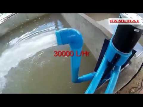 ปั้มน้ำทำเอง How to make a high power motor pump. EP.1