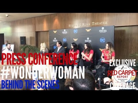 Press Conference about NEW Wonder Woman exhibit at Warner Bros. Studio Tour Hollywood