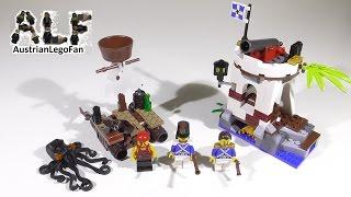 Lego Pirates 70410 Soldiers Outpost / Soldaten Wachposten Mit Piratenfloß - Lego Speed Build Review