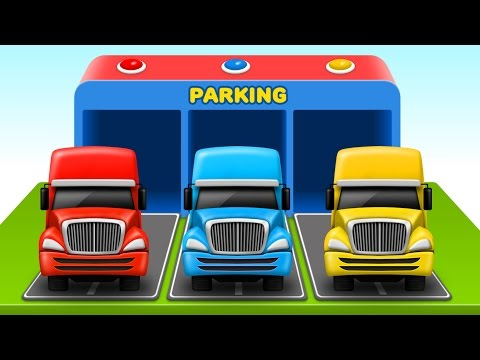 Thumbnail: Colors for Children to Learn with Color Truck Toy & More - Colours for Kids