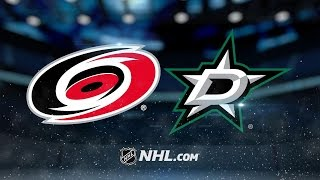 Stars end four-game losing streak with win vs. Canes