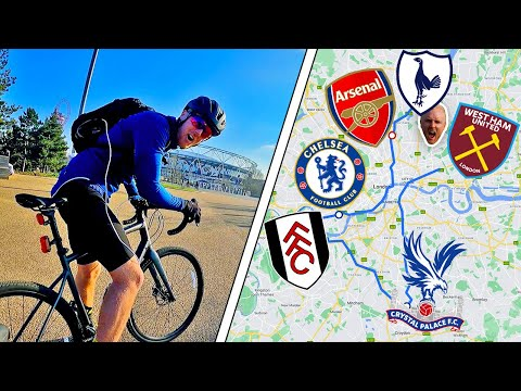 Cycling To Every PREMIER LEAGUE Stadium in London