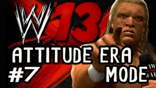 WWE 13: Attitude Era Mode On LEGEND Ep.7: TRIPLE H VS UNDERTAKER