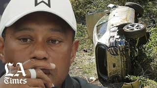 Tiger Woods was driving nearly twice the speed limit before he crashed