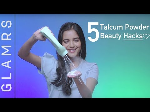5 TALCUM POWDER Awesome BEAUTY Hacks You NEED To Know! | EVERYDAY Life Hacks