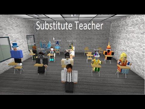 Substitute Teacher ROBLOX  Machinima