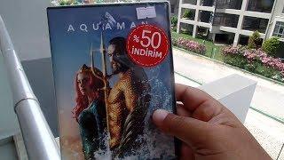DVD - Aquaman Unboxing am Balkon