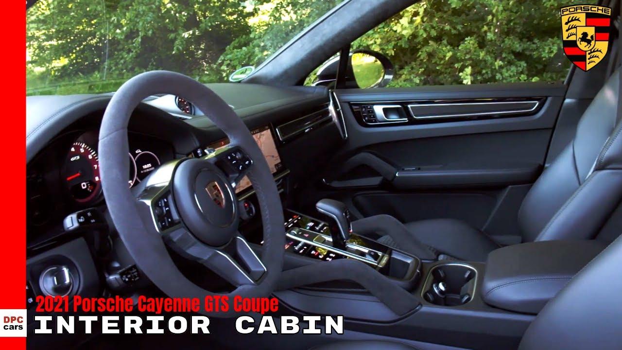 2021 Porsche Cayenne Gts Coupe Interior Cabin Youtube