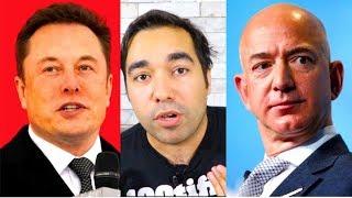 Elon Musk VS Jeff Bezos TODO EL CHISME