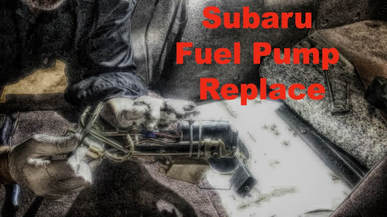 Subaru Fuel Pump Replace Youtube 1992 Svx Wiring Diagram