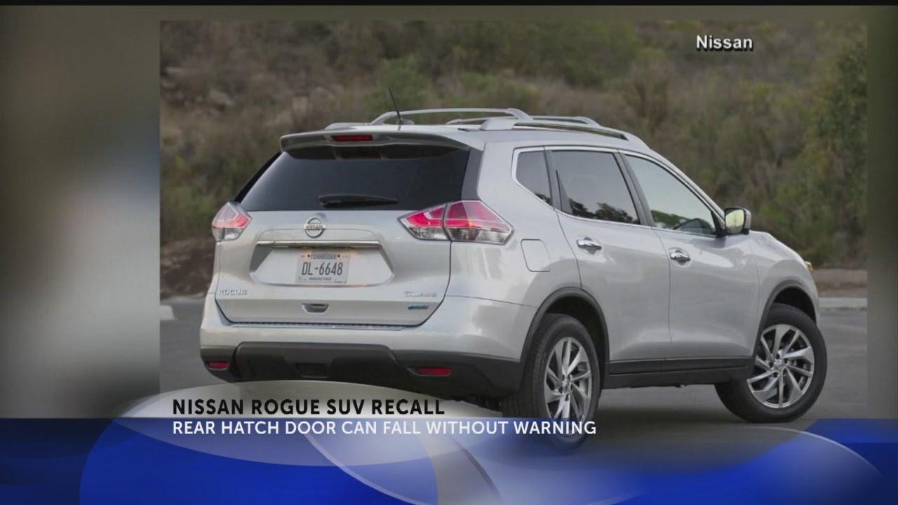 Nissan Rogue Suv Recall Youtube