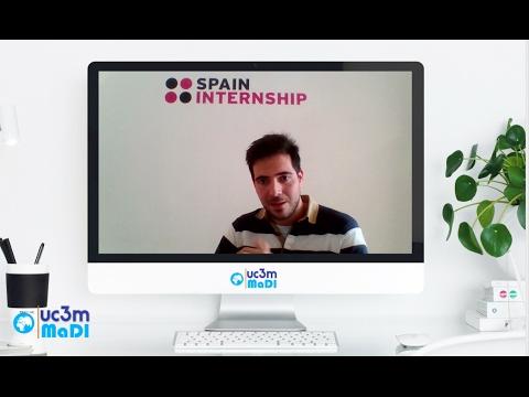 Charla de Spain Internship en el Master in International Business MaDI-UC3M
