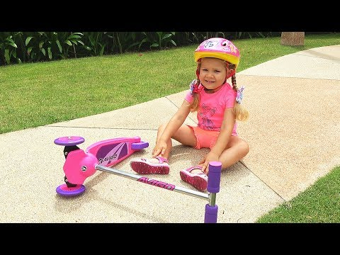Roma and Diana pretend play Rescue Mission, video for kids with toys