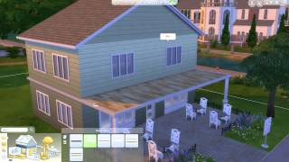 Creating a Balcony - The Sims 4 Tutorial