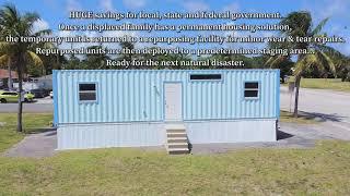 FEMA Tiny Container Home