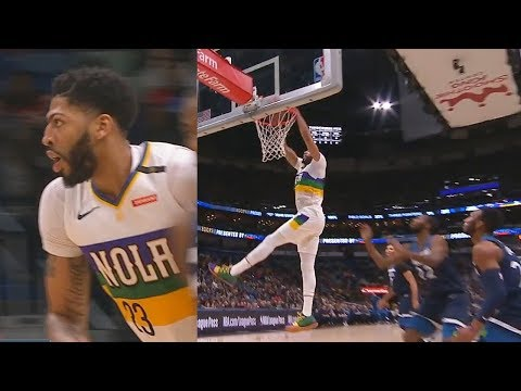 Anthony Davis Shuts Up Entire Pelicans Crowd Booing Him With Crazy Return After No Lakers Trade!