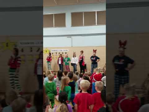 Reede Gray Elementary School 12 Days of Christmas
