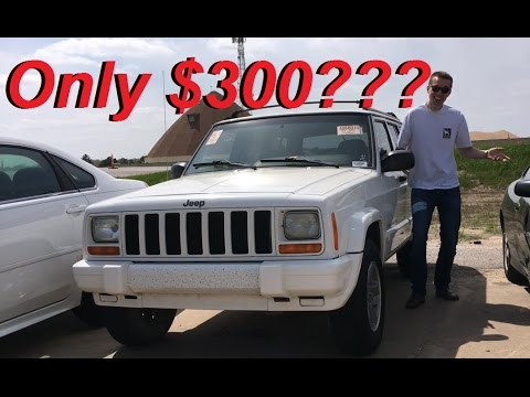 Best $300 Car Ever? 1998 Jeep Cherokee 4x4 with 360k miles