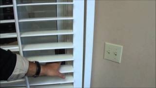 Bi Pass Wood Plantation Shutters Explained | 3blindmiceusa.com