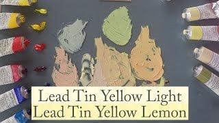 Vicki Norman compares Michael Harding's Lead Tin Yellow Light and Lead Tin Yellow Lemon