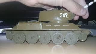 ТАНК Т 34 85 З СРСР МОДЕЛЬ