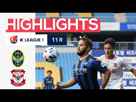 Incheon Sangju Sangmu Goals And Highlights