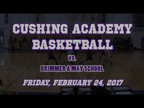 Cushing Academy - Varsity Boys Basketball vs. Brimmer & May School Highlights