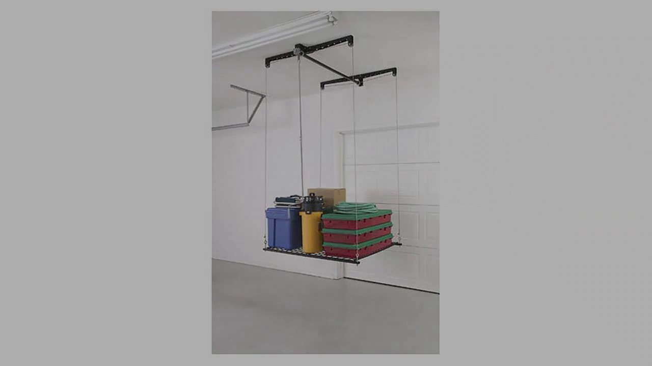 top ceiling jeep racor storage youtube lift ceilings watch