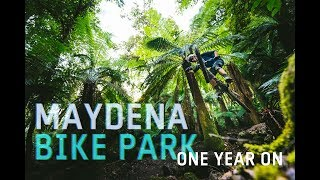 What does Tasmania's massive Maydena Bike Park look like one year i...