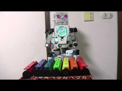 演奏ロボット~音楽療法楽器カラーチャイム しゃぼん玉