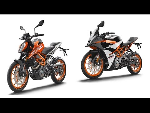 2017 ktm duke390 & rc390|details|my thoughts - youtube