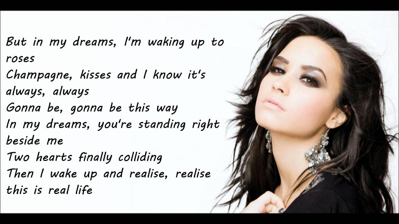 Demi lovato youtube lyrics