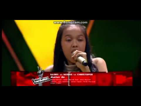 Keisha Palar & Glory & Christoper  Rather Be    Battle Rounds   The Voice Kids Indonesia 2017