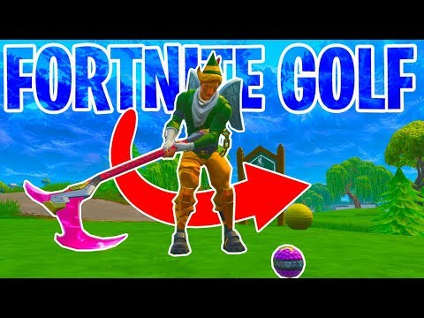THE HOLE IN ONE MASTER! - Fortnite Golf | PLAYGROUND V2 MODE