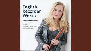 Suite for Alto Recorder and Strings (version for recorder and string quartet) : IV. Burlesca...