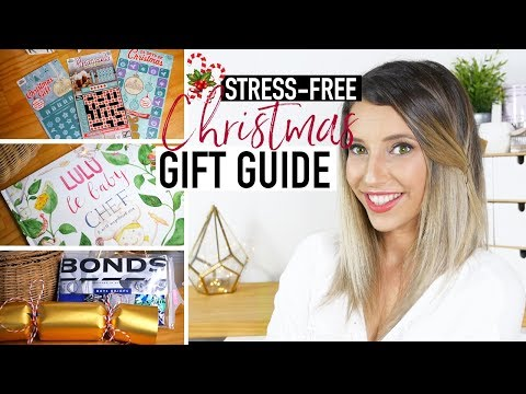 STRESS-FREE XMAS GIFT GUIDE + GIVEAWAY | A GIFT GUIDE FOR LAST MINUTE GIFTS AND STOCKING STUFFERS !
