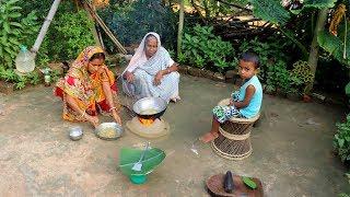 Traditional KUCHO CHINGRI Paste Pakora Recipe by Our Grandmother | Village Style Prawn Recipe