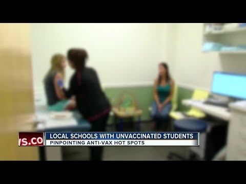 ABC Action News Investigates: Which Tampa Bay schools have the most unvaccinated students