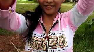 कोका कोला का उपयोग करके अद्भुत लड़की की मछली पकड़ना कंबोडिया में -खमेकर मछली पकड़ने में क्यूबा में