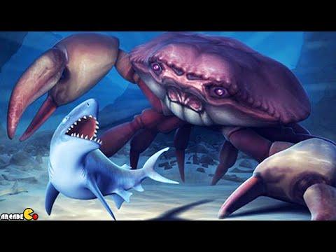 Hungry shark evolution megalodon vs giant crab - photo#14