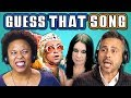 ADULTS GUESS THAT SONG CHALLENGE: 70s Songs REACT