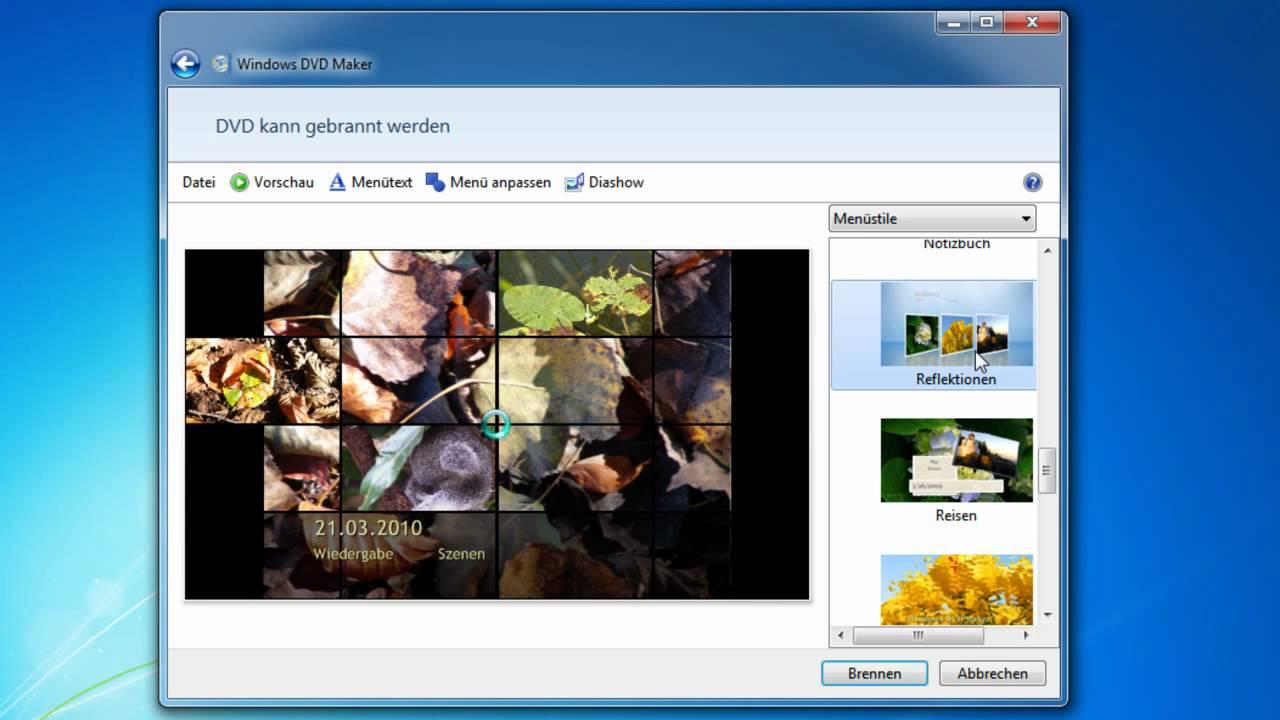 Dvd Erstellen Windows 7