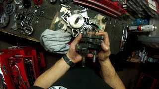 Honda 125 CR 1998 restauration partie 2 scummybraap