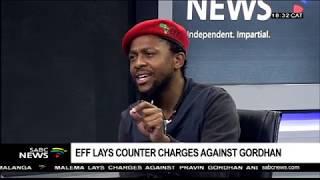 Mbuyiseni Ndlosi explains EFF charges against Gordhan