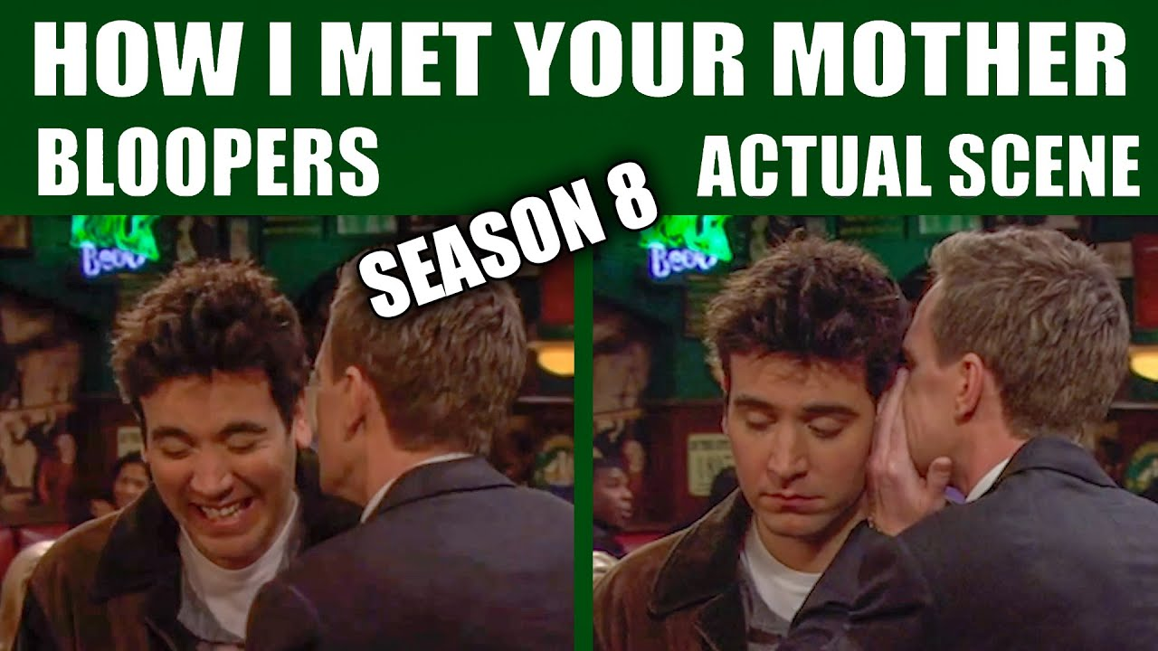 Download How I Met Your Mother - Season 8 Bloopers vs Actual Scenes
