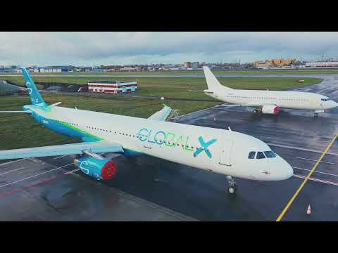 GlobalX A321 Painting